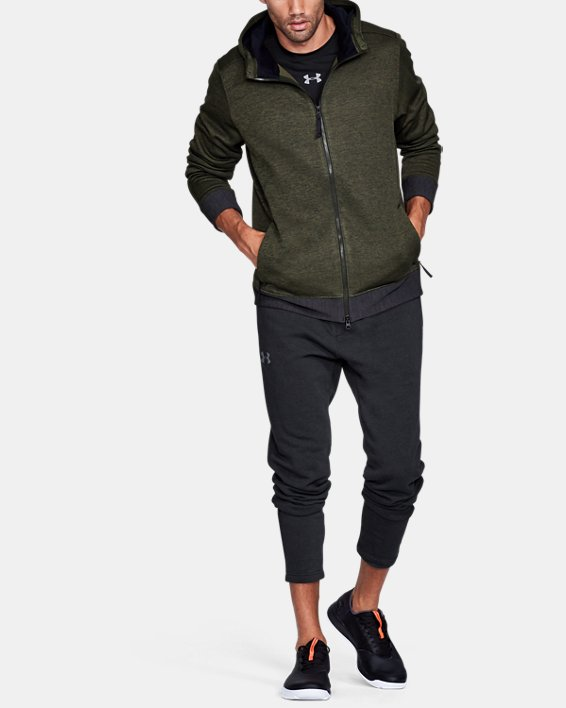 Sportstyle Sweater Flc FZ, Green, pdpMainDesktop image number 1