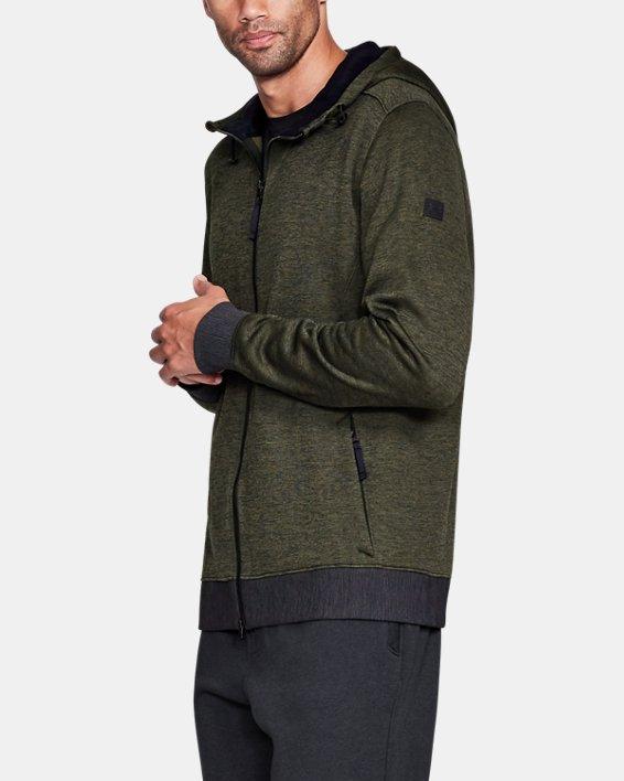 Sportstyle Sweater Flc FZ, Green, pdpMainDesktop image number 4