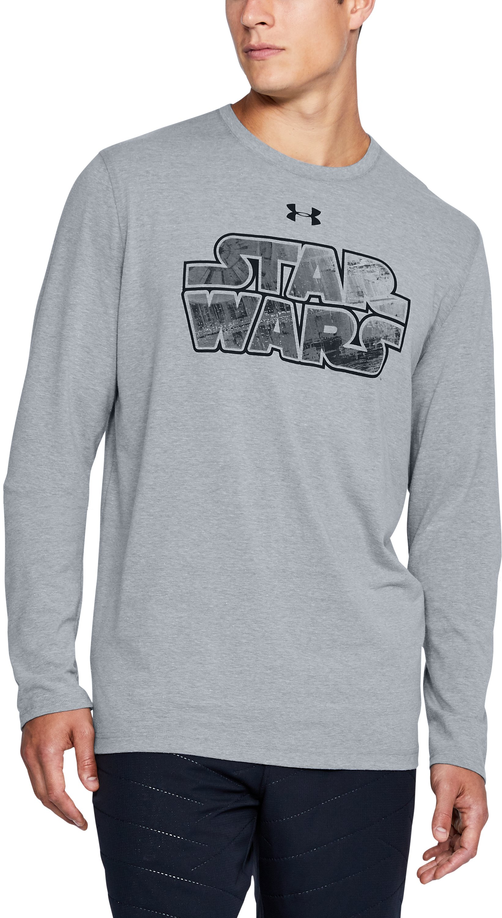 Men's UA Star Wars Branded Long Sleeve T-Shirt 1 Color $23.99