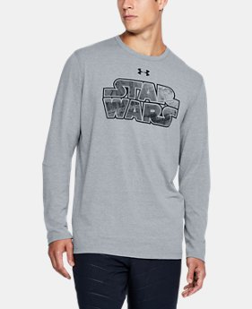 New Arrival Men's UA Star Wars Branded Long Sleeve T-Shirt  1 Color $39.99