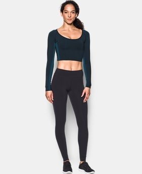 New Arrival  Women's Misty Long Sleeve Crop Top  1 Color $99.99