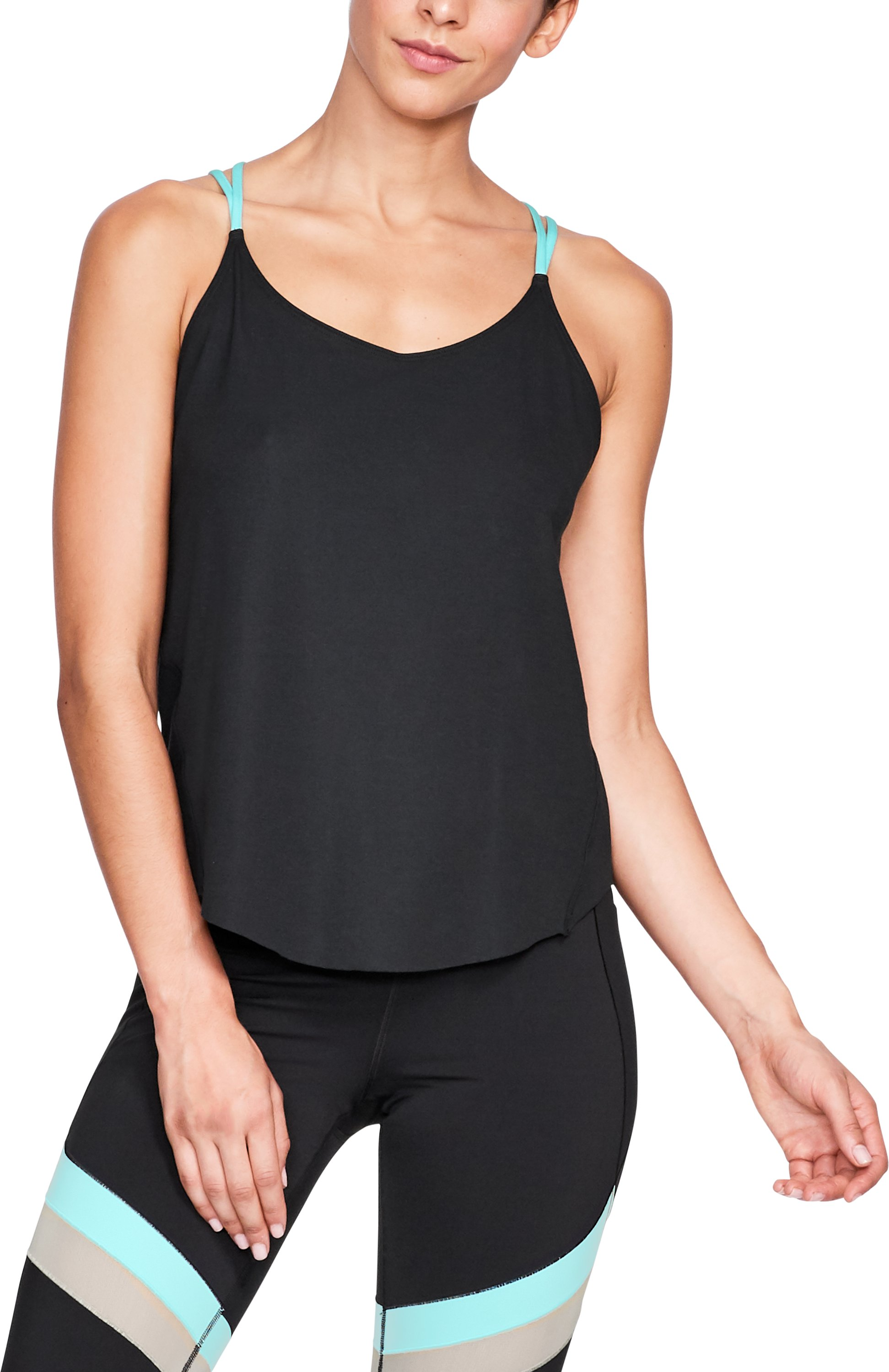 Women's Misty Strappy Tank, Black ,