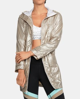 Women's UA Metallic Anorak Jacket   $194.99