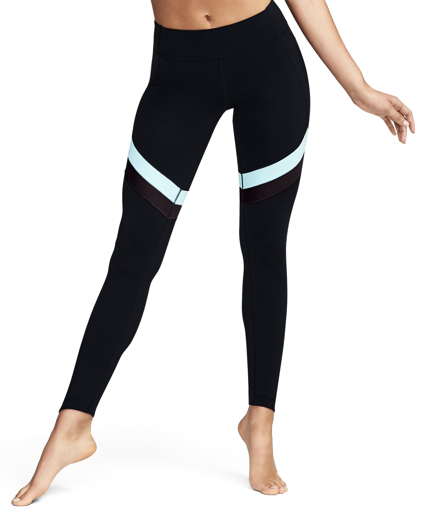 Women's UA BreatheLux Crop, Black , undefined