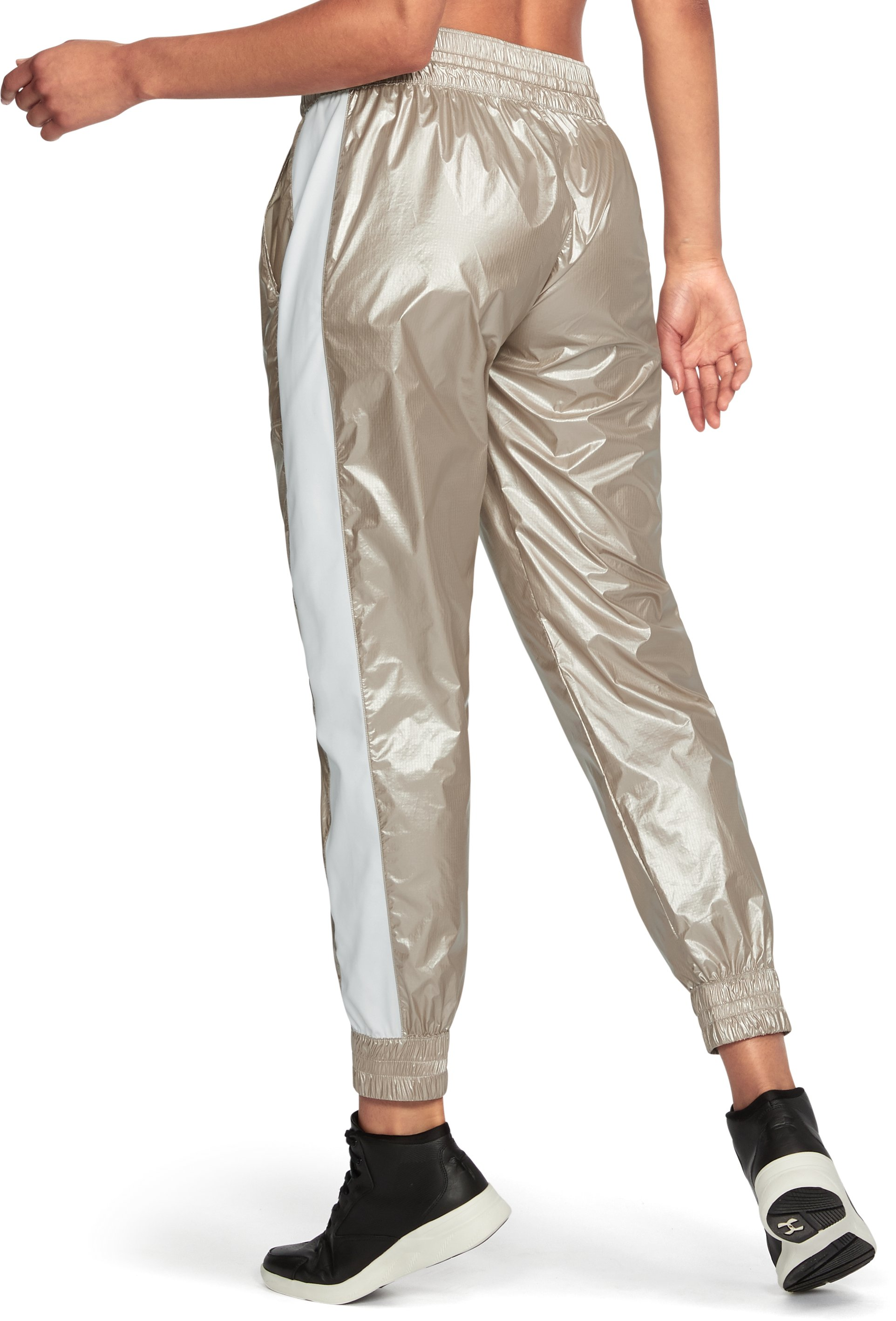 Women's Misty Metallic Jogger, Metallic Gold,