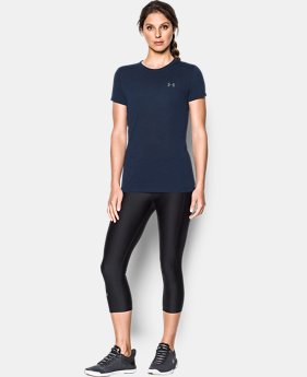 New Arrival  Women's UA Threadborne™ Train Slub T-Shirt  2 Colors $39.99