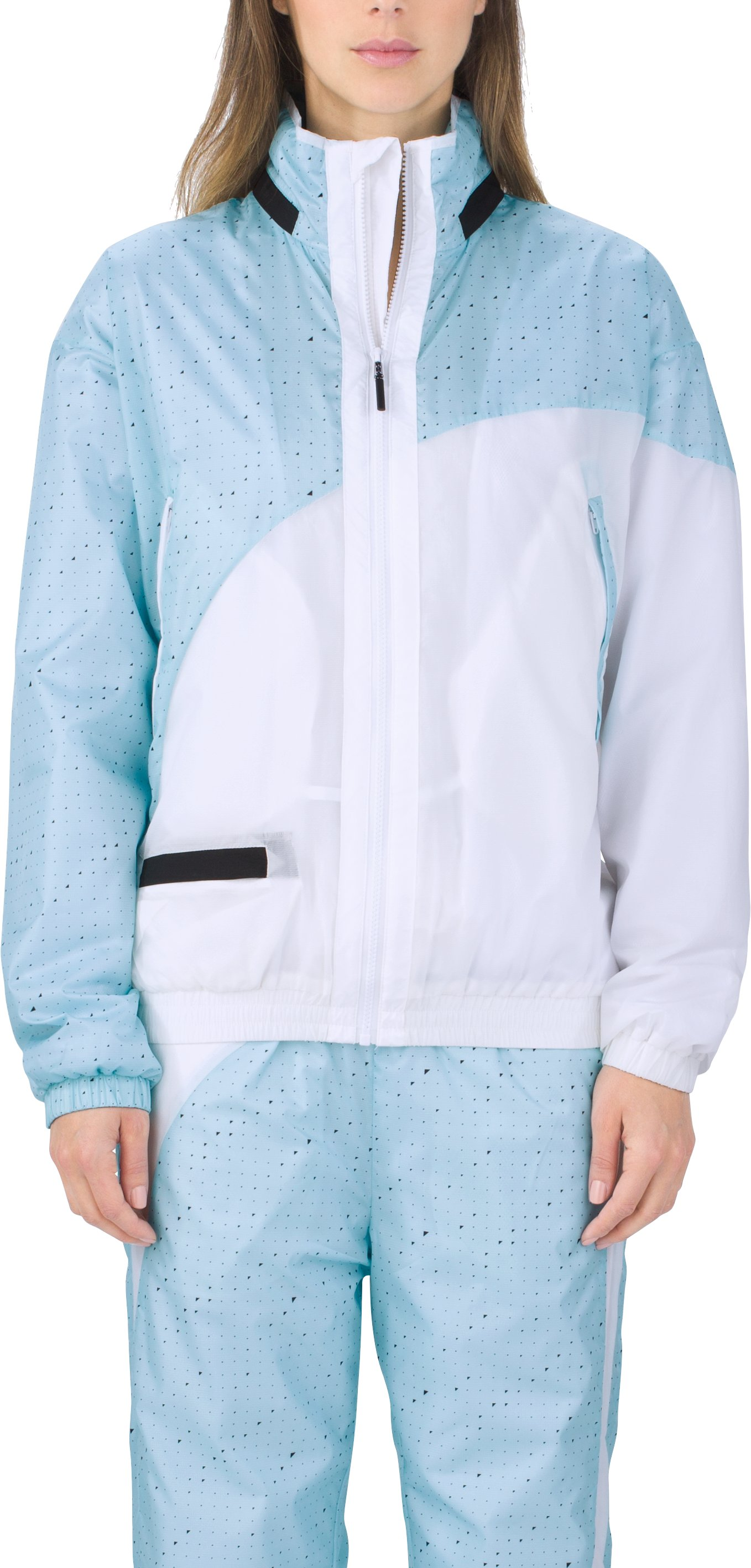 UAS Relay Pattern Track Jacket, BABY BLUE
