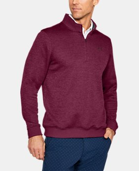 Men's UA Storm SweaterFleece Patterned ¼ Zip LIMITED TIME OFFER 1 Color $52.49