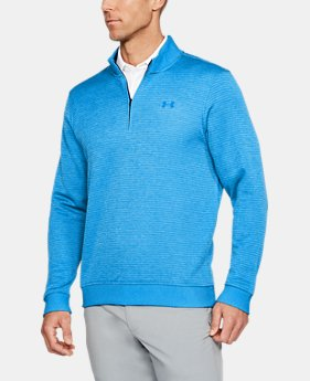 Men's UA Storm SweaterFleece Patterned ¼ Zip  3 Colors $44.99 to $56.24