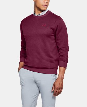 Men's UA Storm SweaterFleece Patterned Crew LIMITED TIME OFFER 1 Color $59.49