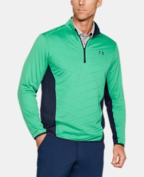 Best Seller Men's ColdGear® Reactor Hybrid ½ Zip  2 Colors $84.99