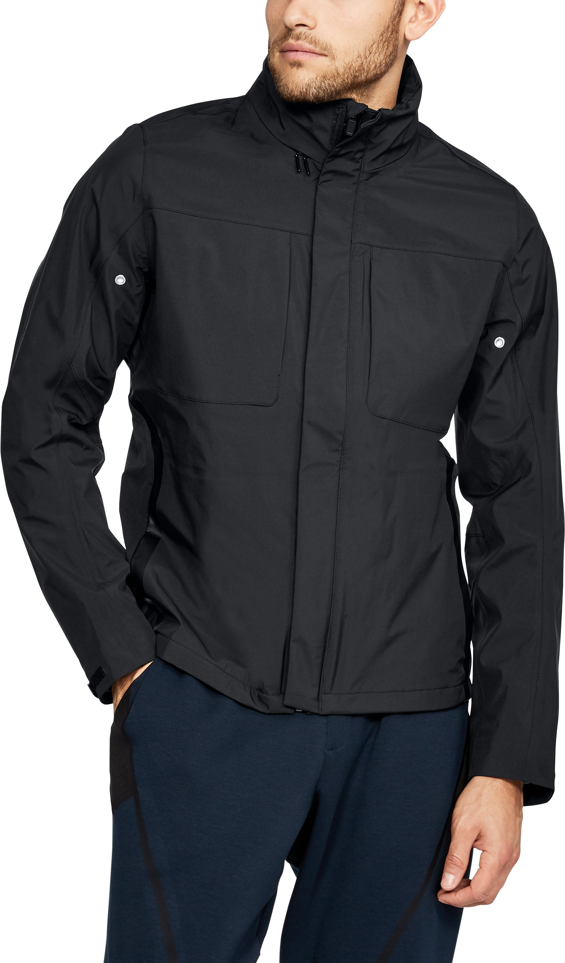 Men's UAS Members Blouson Jacket, Black , undefined