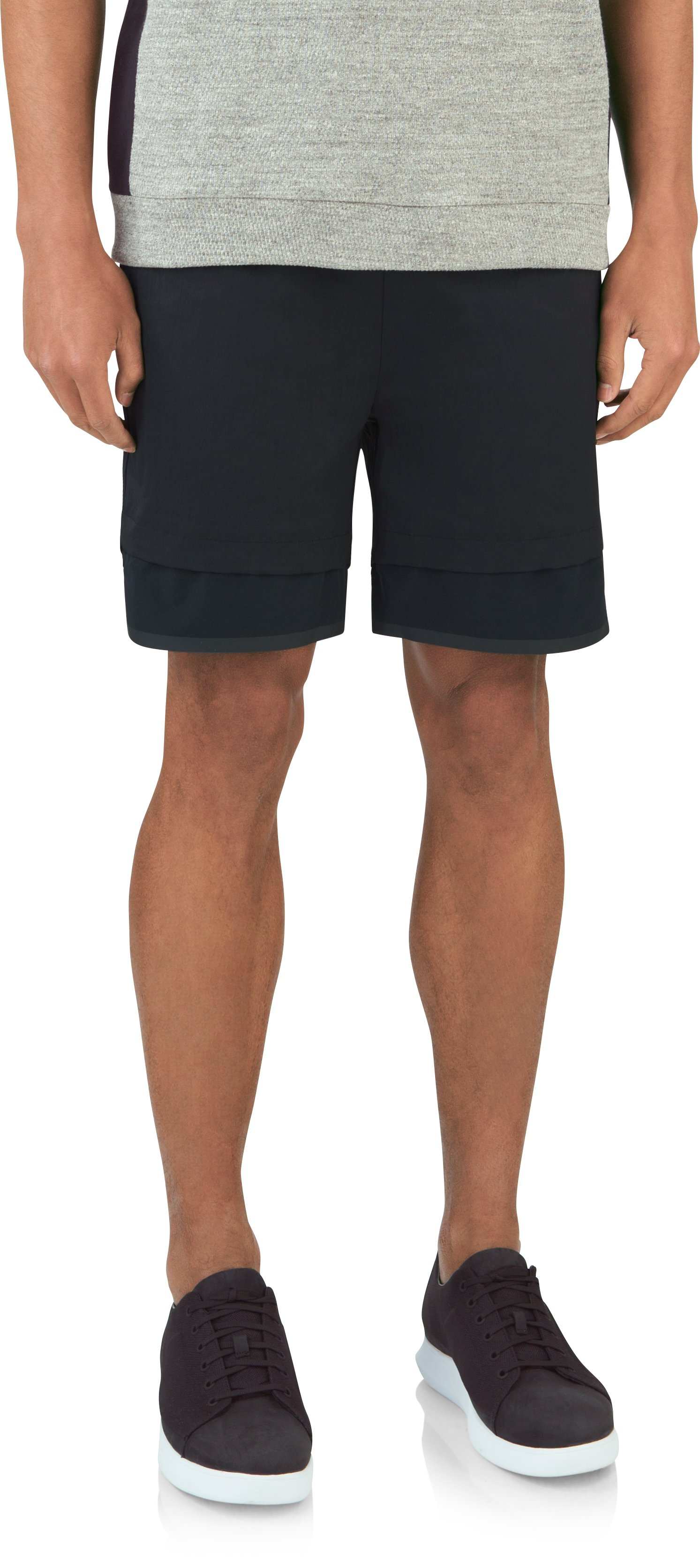 Men's UAS Hybrid Bamboo Shorts, Black