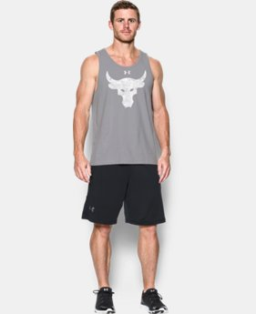 Men's UA x Project Rock Brahma Bull Tank LIMITED TIME: FREE SHIPPING  $34.99