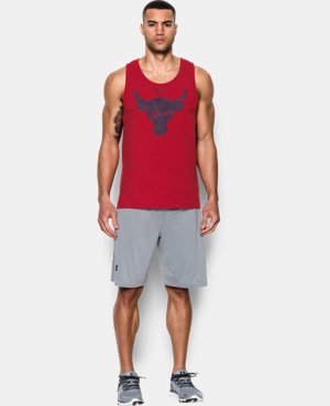 Best Seller  Men's UA x Project Rock Brahma Bull Tank LIMITED TIME: FREE SHIPPING 1 Color $39.99