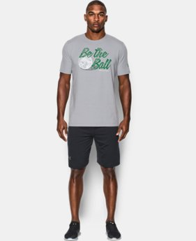 New Arrival Men's UA Caddyshack Be the Ball T-Shirt  1 Color $34.99