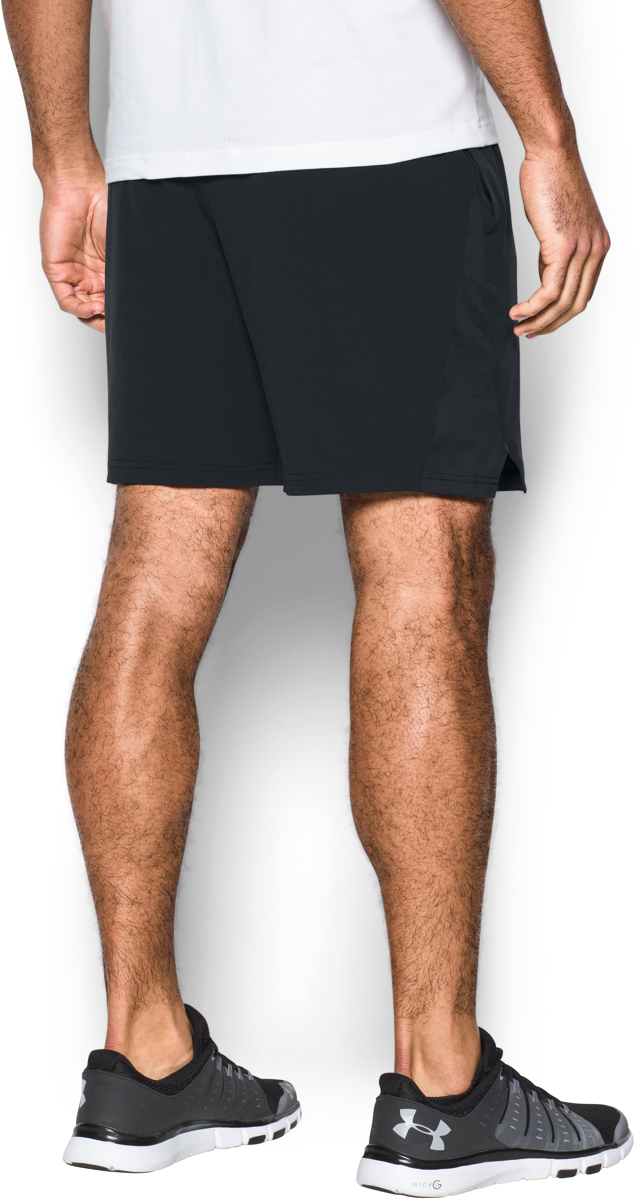 Men's UA Cage Shorts, Black , undefined