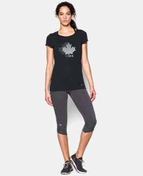 New Arrival  UA Canda Maple Leaf Short Sleeve LIMITED TIME: FREE SHIPPING 1 Color $29.9