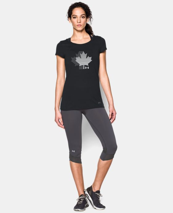 New Arrival  UA Canda Maple Leaf Short Sleeve  1 Color $29.9