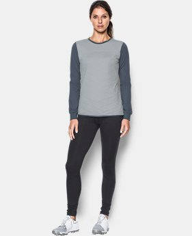 Women's ColdGear® Reactor ½ Zip Hybrid Long Sleeve Shirt  1 Color $59.99