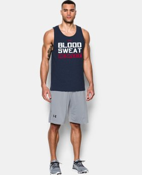 Men's UA x Project Rock Blood Sweat Respect Tank LIMITED TIME: FREE SHIPPING 1 Color $39.99