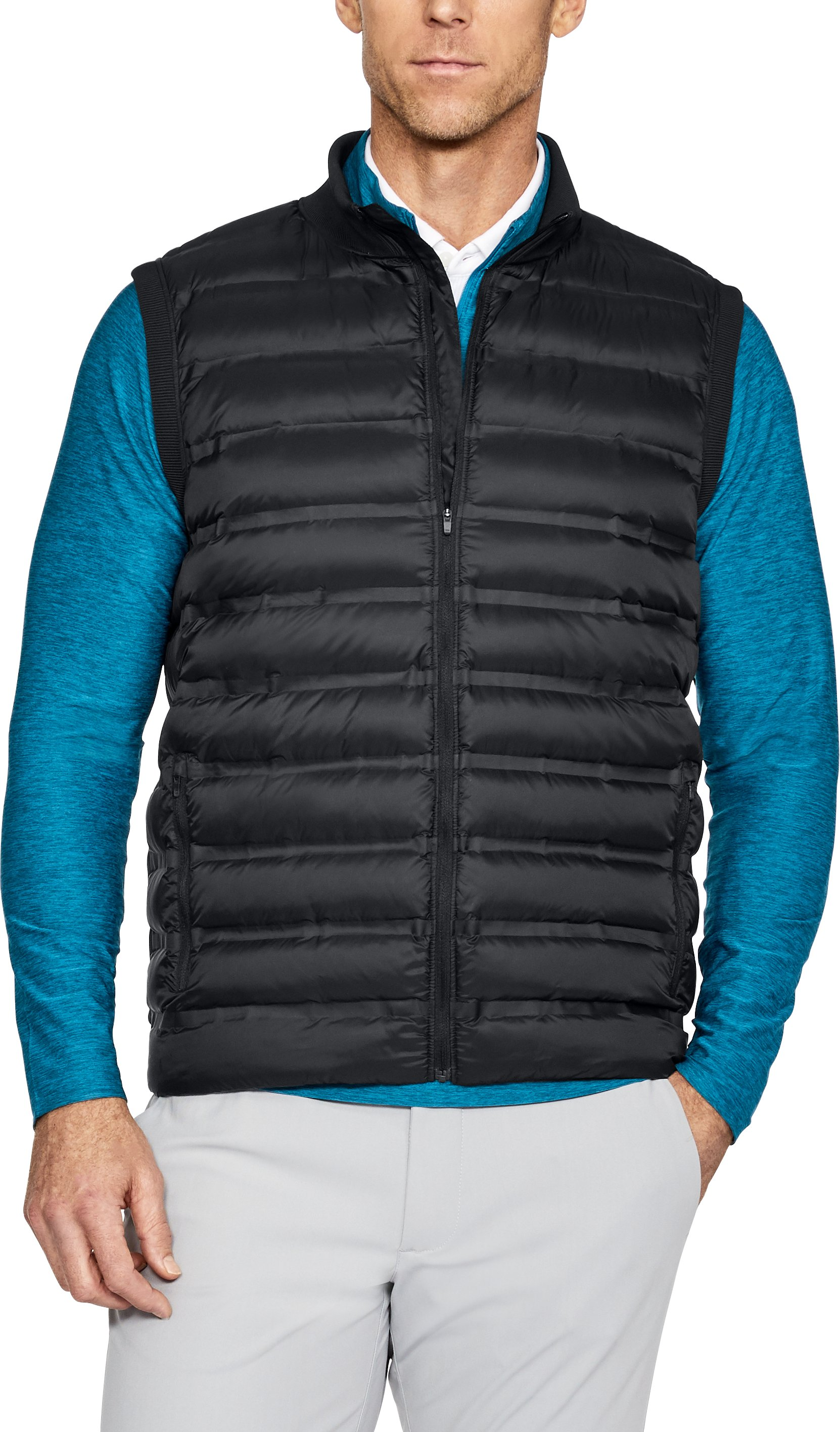 Men's UA Storm Insulated Hybrid Vest, Black ,