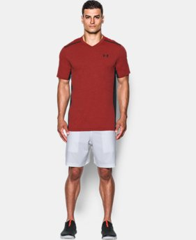Men's UA Threadborne™ Center Court Printed V-Neck  1 Color $69.99
