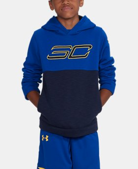 Boys' SC30 Fleece Logo Hoodie  2 Colors $59.99