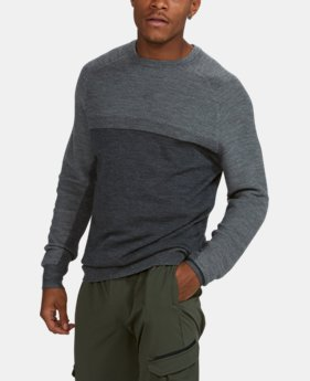 PRO PICK Men's UA Threadborne Crew Sweater  1 Color $109.99