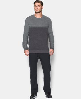 Men's UA Threadborne Crew Sweater  2 Colors $124.99