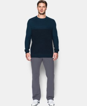 New Arrival Men's UA Threadborne Crew Sweater  1 Color $109.99