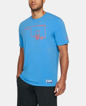 Men's NBA Combine UA Graphic State T-Shirt  4 Colors $35