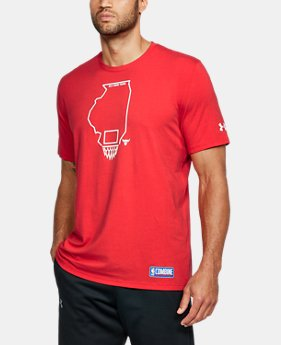 New Arrival Men's NBA Combine UA Graphic State T-Shirt  2 Colors $35