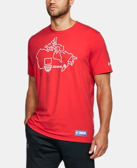 New Arrival  Men's NBA Combine UA Graphic State T-Shirt  1 Color $34.99