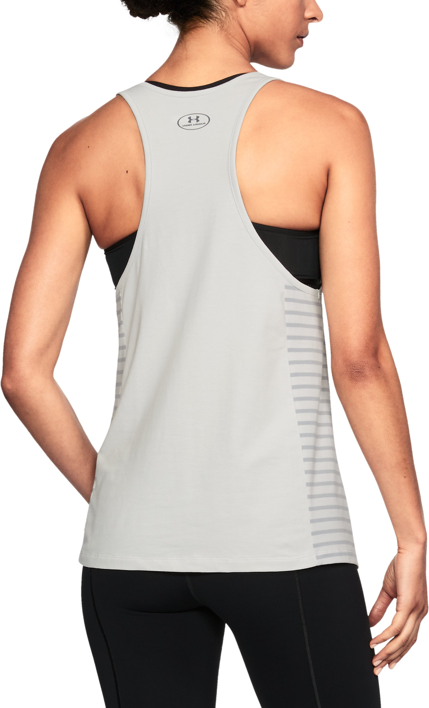 Women's NBA Combine Authentic City Abbreviation Tank, NBA_CLEVELAND CAVALIERS_GLACIER GREY,