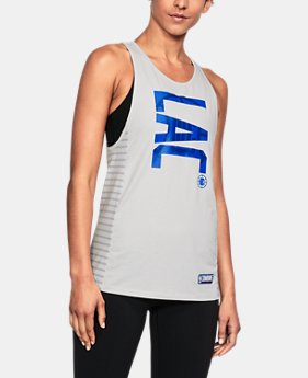 Women's NBA Combine Authentic City Abbreviation Tank  24 Colors $35