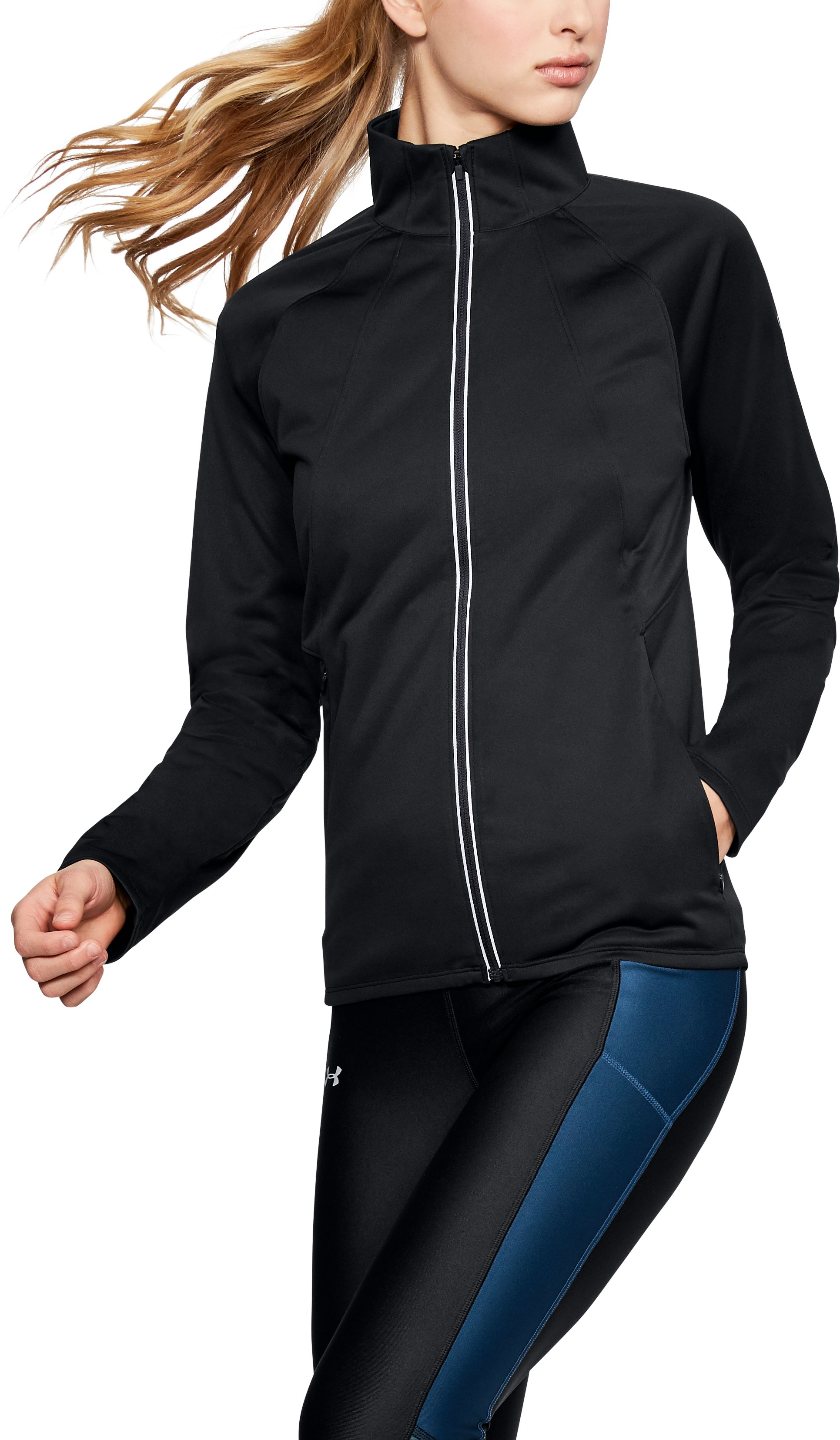 Women's ColdGear® Reactor Storm Jacket, Black ,