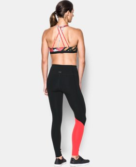 Women's Armour® Strappy Low Sports Bra  2  Colors Available $17.5 to $26.99