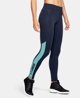 New Arrival Women's ColdGear® Armour Graphic Leggings  1 Color $54.99
