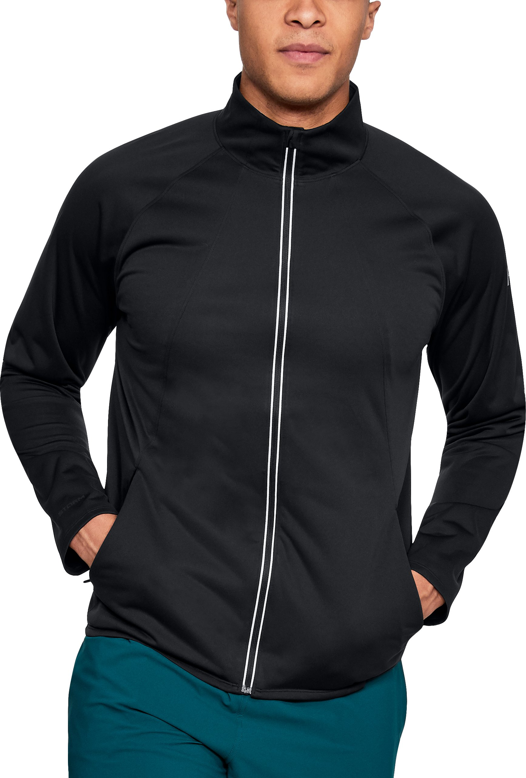 Men's UA Storm ColdGear® Reactor Pace Jacket, Black , undefined
