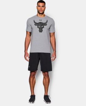 Men's UA x Project Rock Brahma Bull T-Shirt  1 Color $34.99