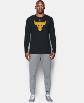 Men's UA x Project Rock Brahma Bull Long Sleeve T-Shirt  1 Color $49.99