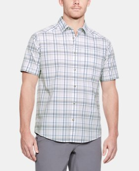 New Arrival Men's UA Legacy Woven Short Sleeve Button Down  1 Color $65