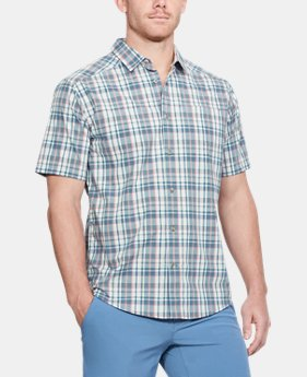 Men's UA Legacy Woven Short Sleeve Button Down  2  Colors Available $65