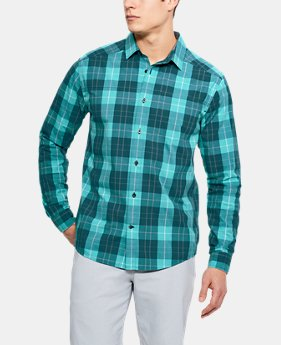Men's UA Legacy Woven Long Sleeve Button Down  2 Colors $75