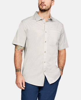 New Arrival  Men's UA Pierpoint Woven Short Sleeve Button Down  3  Colors Available $70