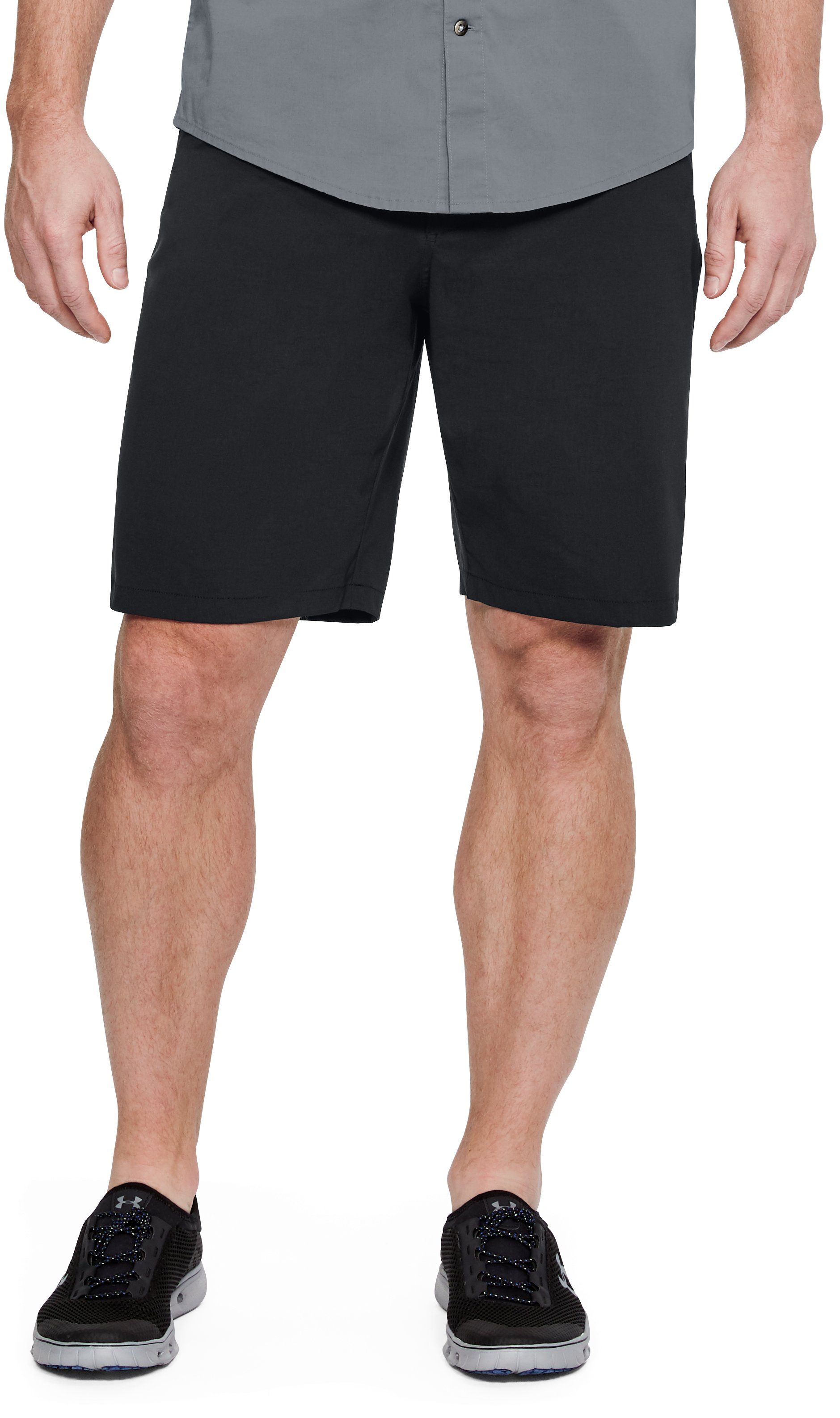 Men's UA Fish Hunter Shorts, Black