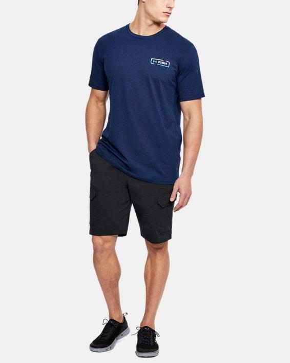 Men's UA Fish Hunter Cargo Shorts, Black, pdpMainDesktop image number 1