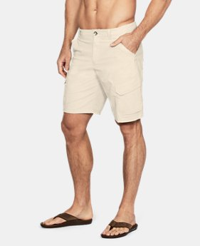 New Arrival Men's UA Fish Hunter Cargo Shorts  1 Color $65