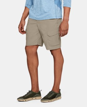 Men's UA Fish Hunter Cargo Shorts  3  Colors Available $65